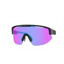 Bliz Matrix Bril Matt Black - Violet W Blue Multi Nordic Light Lens