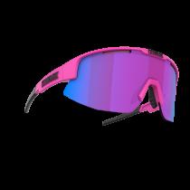 Bliz Matrix Nano Optics   Nordic Light Bril Matt Neon Pink - Begonia W Blue Multi Nordic Light