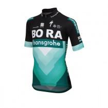 Sportful bora hansgrohe maillot de cyclisme manches courtes enfants noir vert 2019