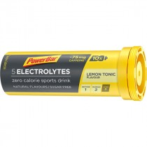 Powerbar electrolyte tabs lemon tonic boost (10 stuks)