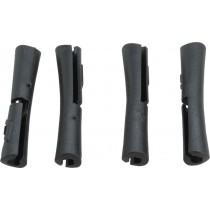 JAGWIRE 5G Tube Tops Frame Protectors Black (4 Pack)