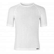 GripGrab expert seamless lightweight sous-vêtement à manches courtes blanc