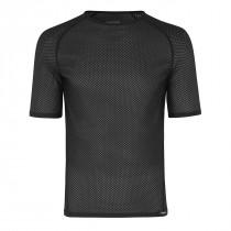 GripGrab ultralight mesh ondershirt met korte mouwen Zwart