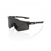 100% Speedcraft XS Bril - Soft Tact Black - Smoke Lens