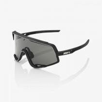 100% glendale fietsbril soft tact zwart - smoke lens