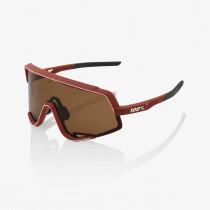 100% Glendale - Soft Tact Bordeaux - Bronze Lens