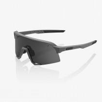 100% S3 - Matte Cool Grey - Smoke Lens