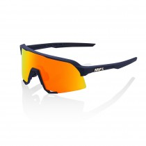 100% S3 lunettes de cyclisme soft tact flume - hiper red multilayer mirror lentille