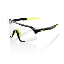 100% S3 - Gloss Black - Photochromic Lens