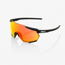 100% Racetrap Lunettes de cyclisme Soft Tackt Black - HiPER Red Multilayer Mirror Lens