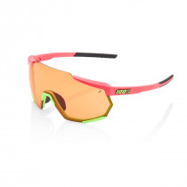 100% Racetrap - Matte Washed Out Neon Pink - Persimmon Lens