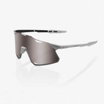 100% Hypercraft - Matte Stone Grey Fietsbril Hiper Silver Mirror Lens