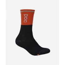 POC Thermal Chaussette Zink Orange / Black