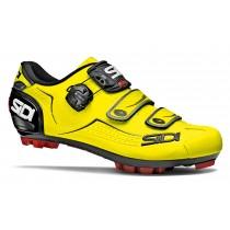 Sidi Trace vtt chaussures de cyclisme jaune fluo noir