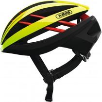 Abus aventor casque de vélo neon jaune