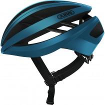 Abus aventor casque de vélo steel bleu