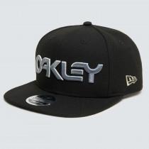 Oakley 6 Panel Gradient Hat - Black B1B Gradient Green