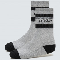Oakley B1B Icon Socks (3 Pcs) - New Granite Hthr