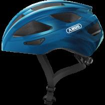 Abus macator casque de cyclisme steel bleu