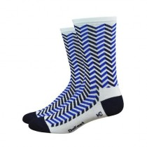 Defeet aireator high-top chaussetes cycliste vibe navy bleu