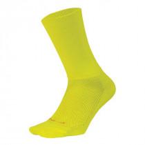 Defeet Aireator Double Cuff Fietssokken Neon Yellow