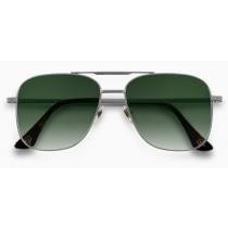 Alba Optics ferro lunettes de cyclisme argent - vzum leaf lentille
