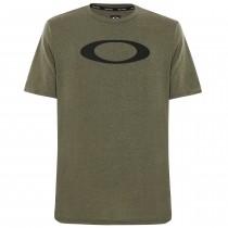 Oakley o-bold ellipse t-shirt dark brush heather