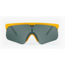 Alba Optics delta fietsbril geel - darkside