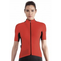 Assos campionissimo laalalai evo 8 maillot de cyclisme manches courtes femme national rouge