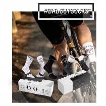 Northwave #badguysocks Chaussettes de Cyclisme GiftBox - Black / White