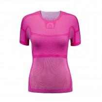 Megmeister drynamo vêtement avec manches courtes femme rose