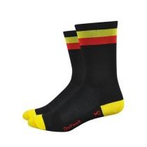 Defeet aireator high-top chaussetes cycliste Belgium noir