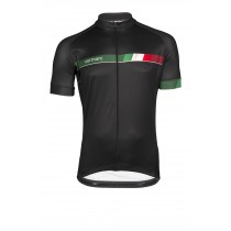 Vermarc italia sp.l maillot de cyclisme manches courtes noir