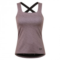 Pearl Izumi Symphony Top Dames - Dusty Plum Stamp