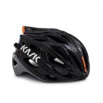 Kask mojito x fietshelm Black-Ash-Orange
