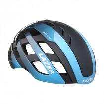 Lazer century casque de vélo  + LED bleu noir