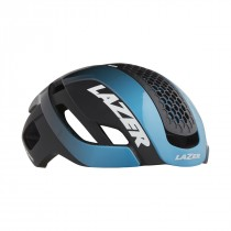 Lazer bullet 2.0 casque de cyclisme bleu noir (y compris lentille + led)