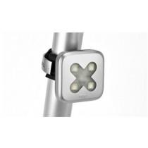 KNOG Blinder 4 Rear Cross Silver