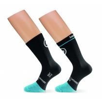 ASSOS Bonka Evo 7 Sock Black