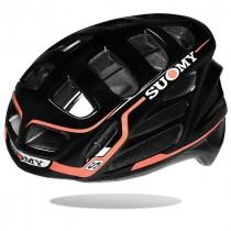 Suomy gun wind S-line casque de vélo noir rouge