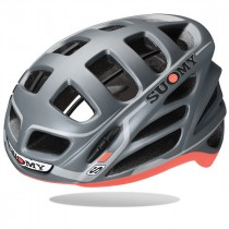 Suomy gun wind S-line casque de vélo anthra rouge mat
