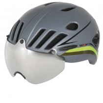 Suomy vision casque de vélo gris noir