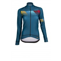 Vermarc chroma pr.r maillot de cyclisme manches longues femme petrol