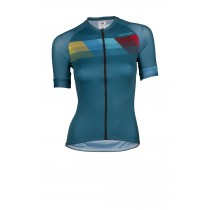 Vermarc chroma pr.r summer maillot de cyclisme manches courtes femme petrol