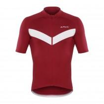 De Marchi classica 4-season maillot de cyclisme manches courtes rouge