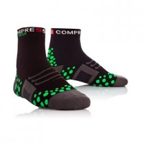 COMPRESSPORT Bike Socks High Black Green