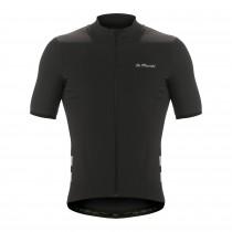 De Marchi cortina wind maillot de cyclisme manches courtes noir