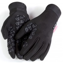 De Marchi cortina gant de cyclisme noir