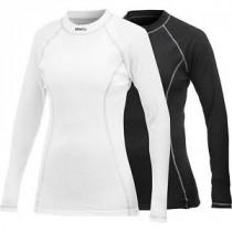 Craft active vêtement manches longues femme noir et blanc 2-pack