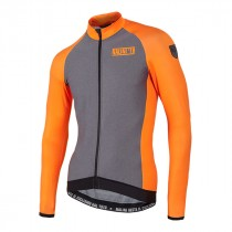 NALINI Crit Wind Jersey LS Grey Orange